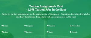 Tuition assignments east