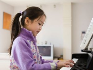 Learning piano at home as an enrichment during home based learning